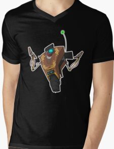 Jakob's Claptrap Sticker Mens V-Neck T-Shirt