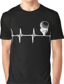 Golf Heartbeat, Funny Gift For Golfer Graphic T-Shirt