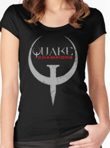Quake Champions Women's Fitted Scoop T-Shirt