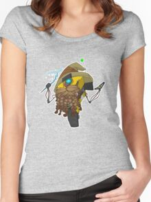Wizard Claptrap Sticker Women's Fitted Scoop T-Shirt