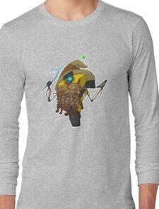Wizard Claptrap Sticker Long Sleeve T-Shirt