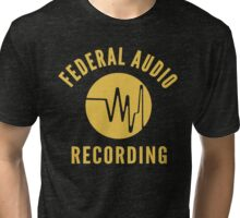 Federal Audio Recording Tri-blend T-Shirt
