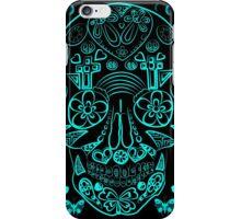 Neon Sugar Skull iPhone Case/Skin