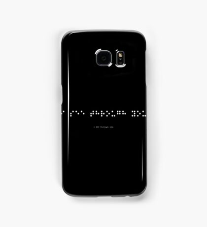 i see through you (version 2) Samsung Galaxy Case/Skin