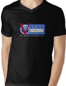 Vital Information With Lori Beth Denberg Mens V-Neck T-Shirt