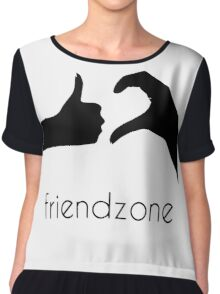 Friendzone Logo Chiffon Top