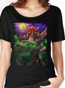 Red Gyarados Women's Relaxed Fit T-Shirt