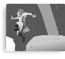 MoonBound Canvas Print