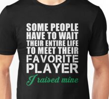 Favorite Player Raised Mine T Shirt, Funny Golfer Love Golfing Funny Quote Unisex T-Shirt