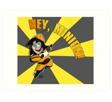 Hey, Minion! Art Print