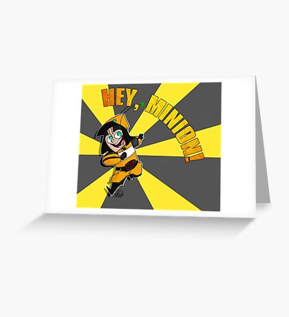 Hey, Minion! Greeting Card