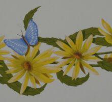 Golden Garland Sticker