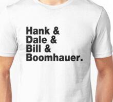 King of The Hill - Helvetica List Unisex T-Shirt