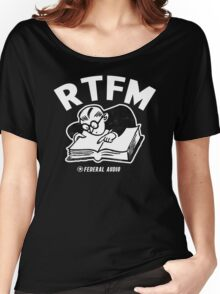 RTFM (WB) Women's Relaxed Fit T-Shirt