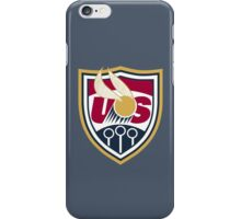 United States of America Quidditch Logo Large iPhone Case/Skin