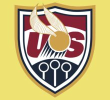 United States of America Quidditch Logo Large Kids Clothes