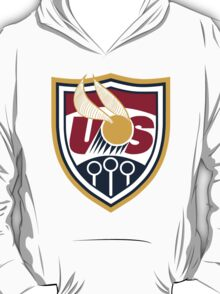 United States of America Quidditch Logo Large T-Shirt