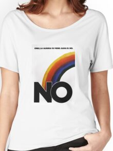 No contra Pinochet Women's Relaxed Fit T-Shirt