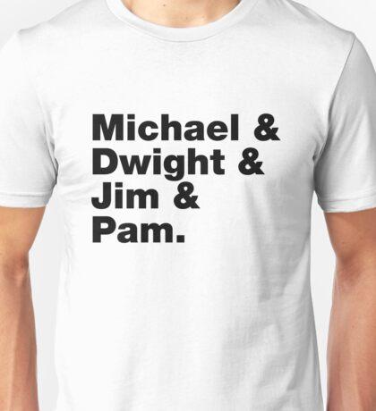 The Office Helvetica List Unisex T-Shirt