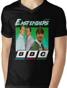 Eastenders 90's Vintage Mens V-Neck T-Shirt