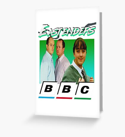 Eastenders 90's Vintage Greeting Card