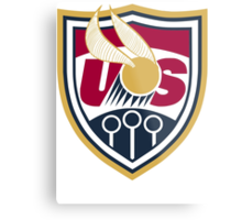 United States of America Quidditch Logo Large Metal Print