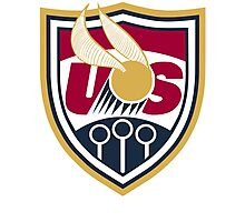 United States of America Quidditch Logo Large Photographic Print