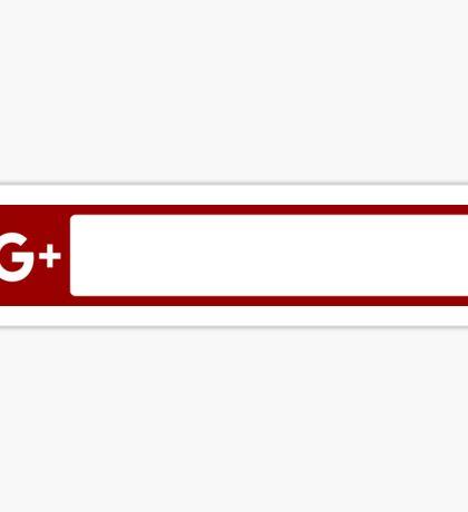 Promotion Sticker (Google+) Sticker