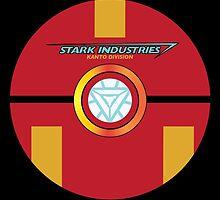 Stark Tech Pokeball by Connor Keane