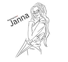 Janna, Reporting Live by Sskimm