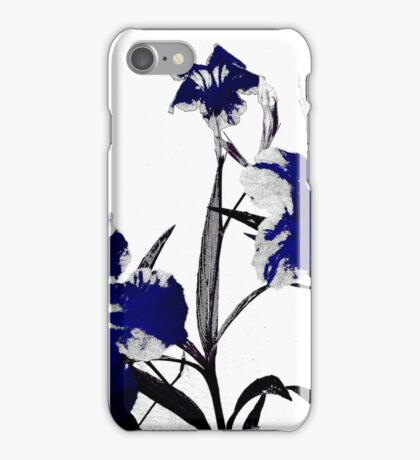 blue gothicus iPhone Case/Skin