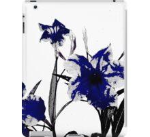 blue gothicus iPad Case/Skin
