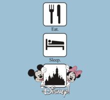 Eat. Sleep. Disney! Mickey & Minnie Vertical Tee and Cases for Him or Her! by rockinbass85