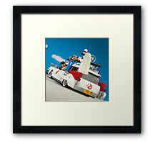Ghostbusters hunted Framed Print