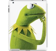 Kermit Contemplating, an aesthetic iPad Case/Skin