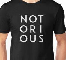 Notorious White Unisex T-Shirt
