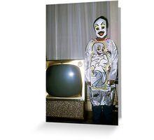 1960s Found Photo Halloween Card - Casper The Friendly Ghost Greeting Card
