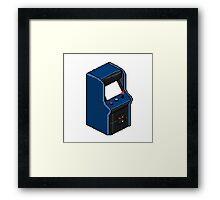 Pixel Arcade Framed Print