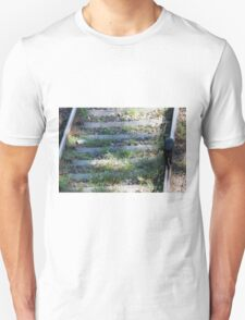 cat on the rails T-Shirt