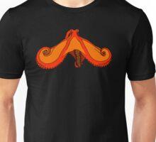 Orange Octopus Unisex T-Shirt