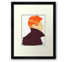 David Bowie - Low (Minimal) Framed Print