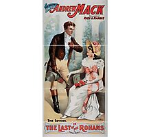 Performing Arts Posters The singing comedian Andrew Mack in the The last of the Rohans by Ramsay Morris 1466 Photographic Print