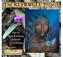 "Orchid Print feat. ""Yemaya"" - by Jasmin Jeffreys: Klyoogle Project Rainforest Fundraiser Print Photographic Print"