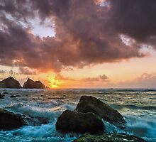 Holywell Bay by JEZ22