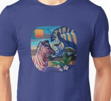 Sunset in Ngoro Ngoro. (Origilal is in private collection) Unisex T-Shirt