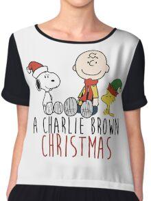 Charlie Brown - Christmas Chiffon Top