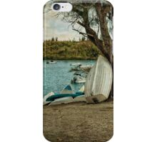 Row of Row Boats iPhone Case/Skin