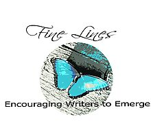 Fine Lines - encouraging Writers Photographic Print
