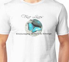 Fine Lines - encouraging Writers Unisex T-Shirt