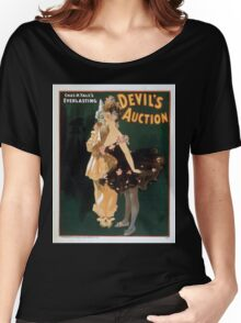 Performing Arts Posters Chas H Yales everlasting Devils auction 0041 Women's Relaxed Fit T-Shirt